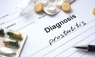 Diagnose einer Prostatitis